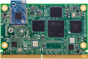 Spark-501 SMARC module with Atmel SAMA5D3