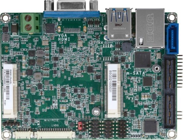 Braswell quad core Atom SBC uses Windows 10 IoT Entry