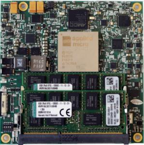 HeliX 2 4-core 64-bit ARM module with 10Gb Ethernet, 6 PCIe lanes, SATA-3