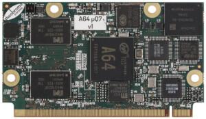 A64-uQ7 Allwinner A64 module quad ARM Cortex-A53
