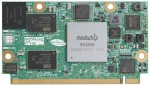 Rockchip RK3368 Octa-core Q7 module