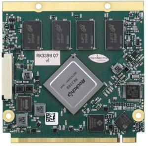 RK3399 6 core qseven module